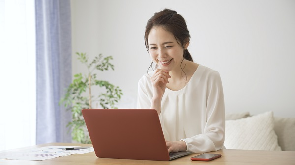 審美歯科治療のオンライン相談